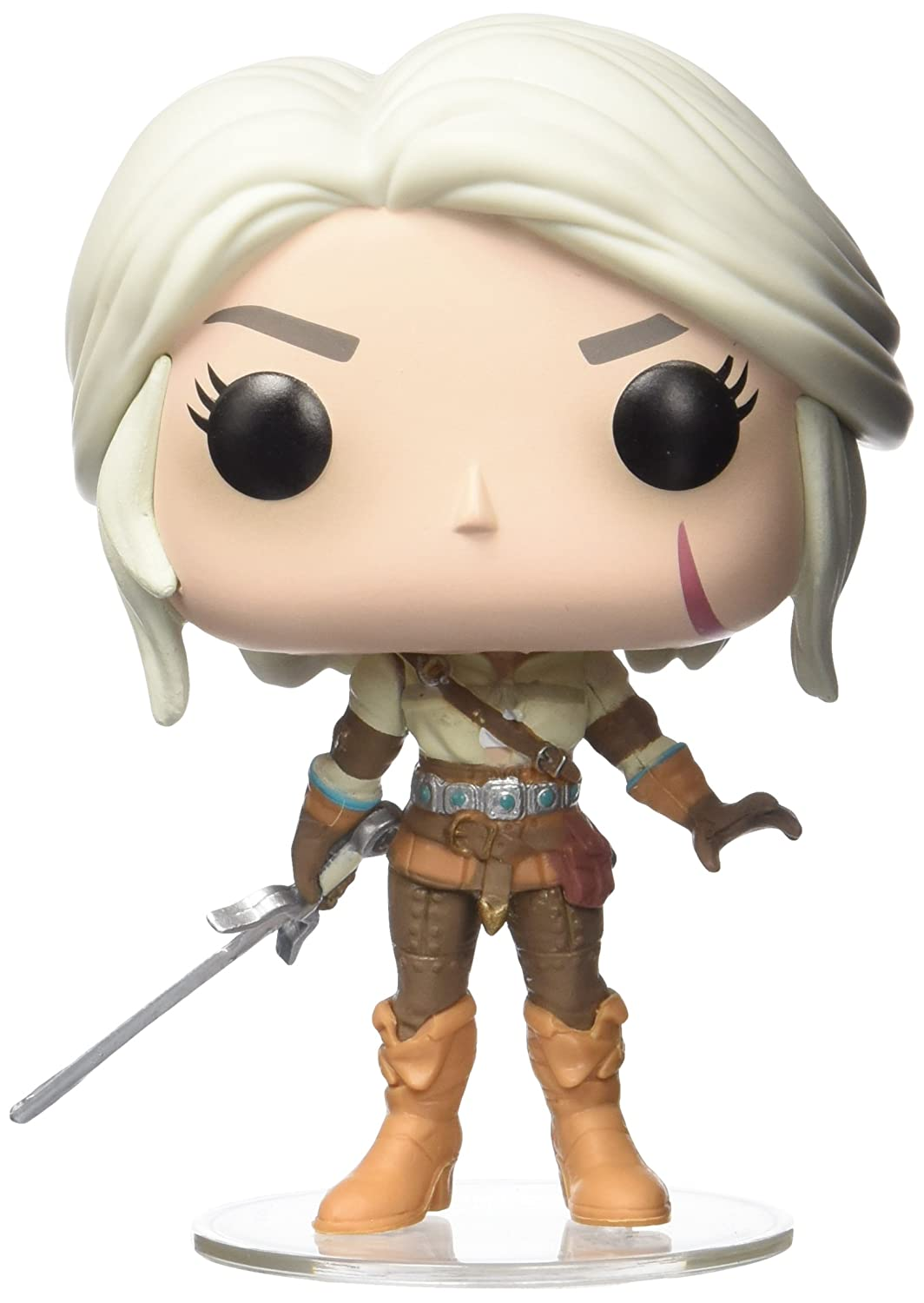 FUNKO POP! 12133 GAMES: Witcher - Ciri Funko Pop! Games: Accessory Toys & Games Miscellaneous