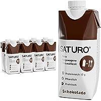 Saturo Chocolate - Batido Sustituto Alimenticio | Comida Saciante, Sana y Vegana | Perfecto para Nutrición en el Deporte…