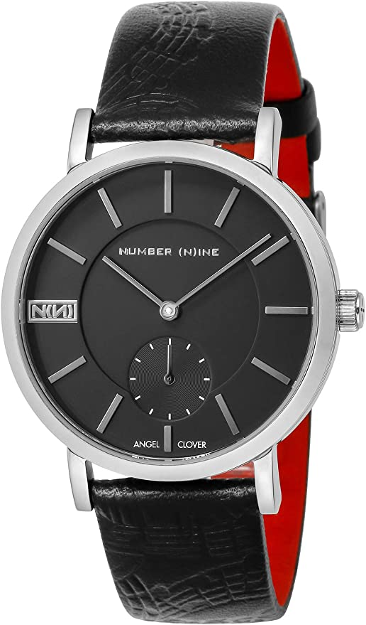 [エンジェルクローバー] 腕時計 NUMBER(N) INE ブラック文字盤 NNS40SBKBK メンズ ブラック