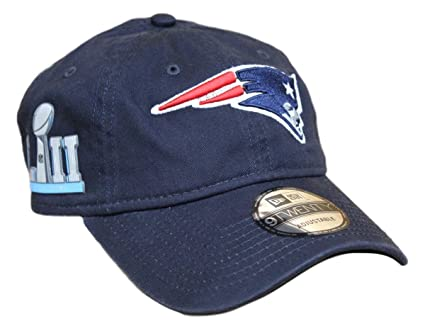 purchase cheap ef4a3 b19a9 Image Unavailable. Image not available for. Color  New Era New England  Patriots 9Twenty NFL Super Bowl LII ...