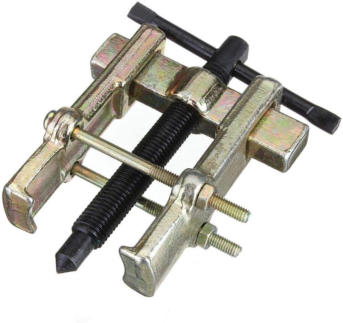 NO LOGO 1pc 2 '' - 65 mm Mejor Precio de Acero al Carbono Dos mandíbulas Gear Puller Armadura Teniendo Espiral Tirador de forja