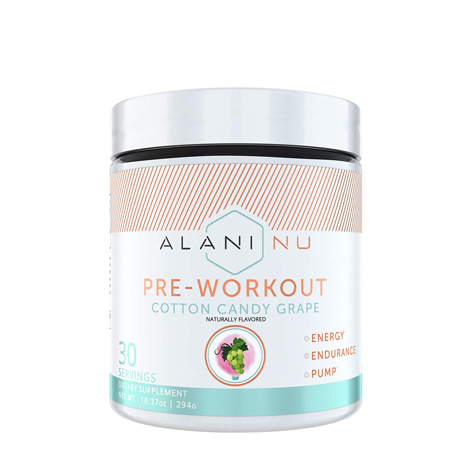Alani Nu Pre-Workout – Cotton Candy Grape