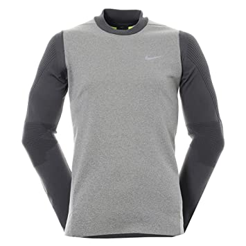 70cb7ae6 NIKE Men's Golf Sphere Knit Crew 801904 091 Cover Up Dri Fit, Golf - Amazon  Canada