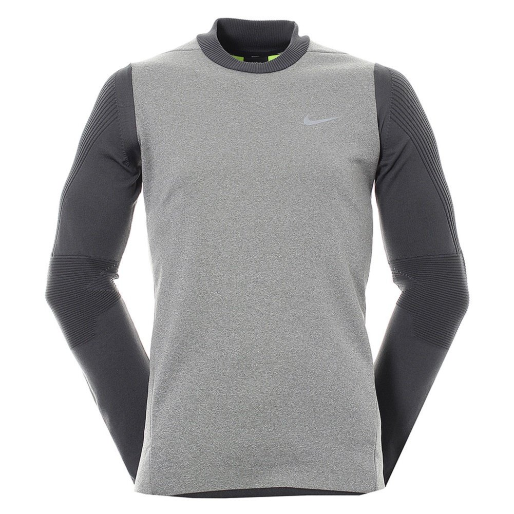 Men's Golf Nike Sphere Knit Crew 801904 091 Cover Up Dri Fit