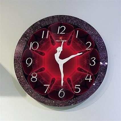 Reloj de Pared para Cualquier Nueva Moderna habitación Doble acristalamiento precisa Gran conocedor del mentón mobiliario