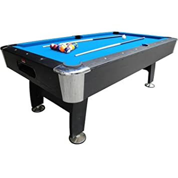 Foot Black Cat Pool Table Amazoncouk Sports Outdoors - Seven foot pool table