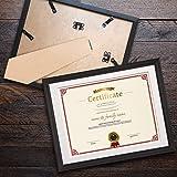 8.5 x 11 Frame Set of 2 Diploma Certificate