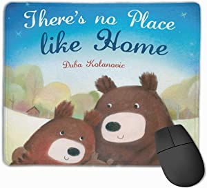 Mouse Pad No Place Like Home Mousepads Non-Slip Rubber Gaming Mouse Pads Mat for Computers Laptop 9.8 Inch X 11.8 Inch