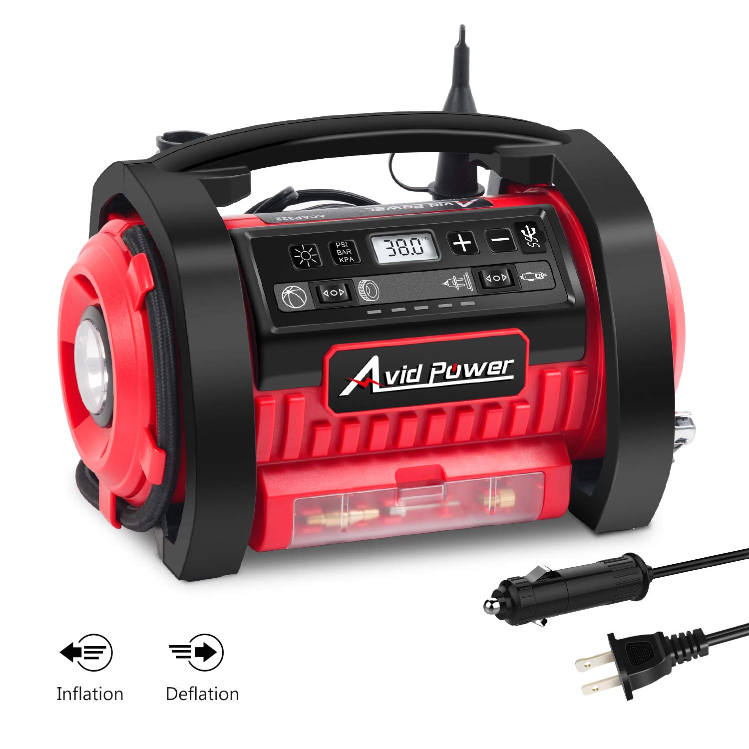 Avid Power 12V DC / 110V AC Dual Power