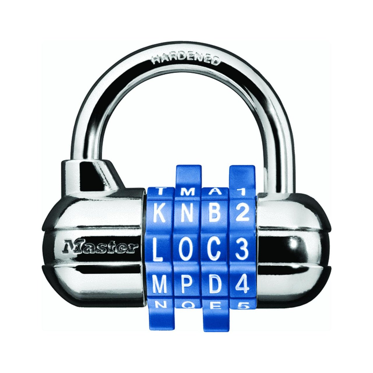 Master Lock 1534D Password Plus Combination Padlock Color May Vary, 16-Pack