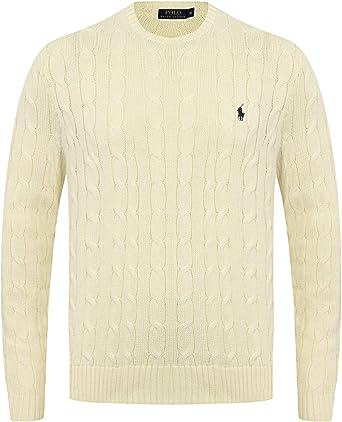 Ralph Lauren - Jersey de algodón para hombre: Amazon.es: Ropa y accesorios