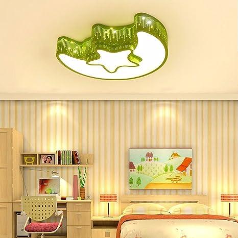 Habitación niños LED lámpara de techo dormitorio niños niñas ...