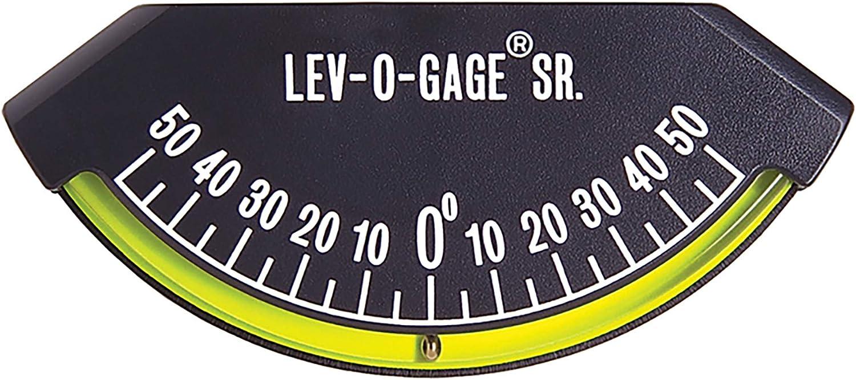 Sol Empresa Lev-o-Gage Sr. inclinómetro medidor de inclinación y   Nivel para Remolque o 5th Rueda