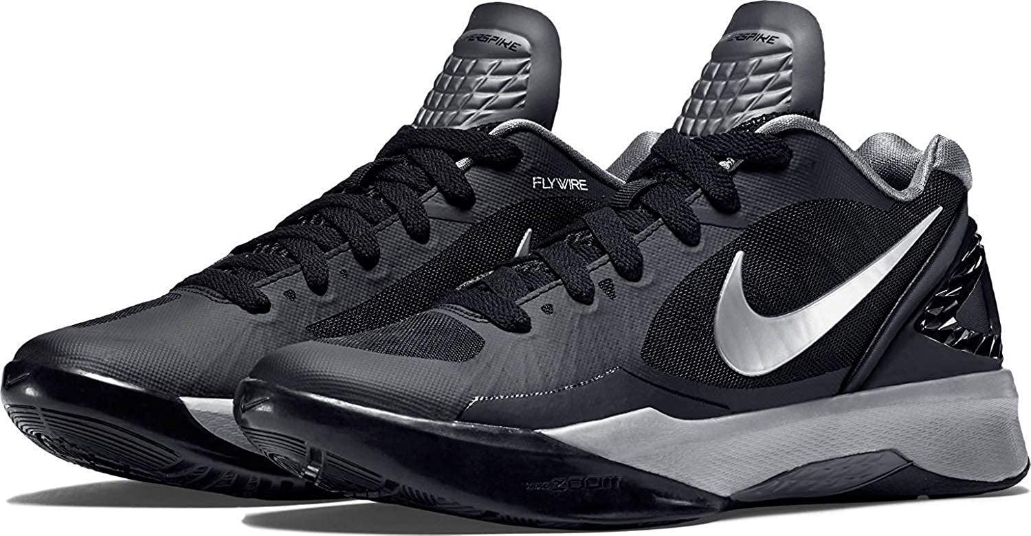 wholesale dealer 0e635 dd093 Nike Women s Volley Zoom Hyperspike Training Shoe (13, Black Metallic Silver-White)   Amazon.in  Shoes   Handbags