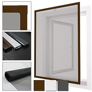 Wundervoll proheim Insektenschutz-Fenster Comfort Fliegengitter mit Alu  HS53
