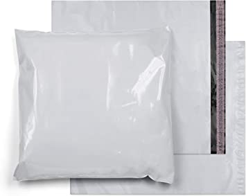 250 Pack 24x24 Inches Black Poly Mailers Mailing Envelope Shipping Bags 24 x 24