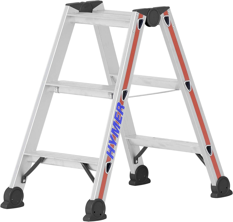 Hymer 402406 SC 40 - Escalera de mano (aluminio, 6 peldaños): Amazon.es: Bricolaje y herramientas