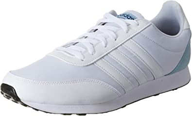adidas V Racer 2.0, Scarpe da Running Uomo, Bianco (Ftwr