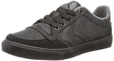 Hummel Stadil Oiled Lo, Unisex Adults' Low-Top Sneakers, Black (Black