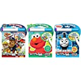 Bundle of 3 Imagine Ink Magic Pictures Activity Books - Paw Patrol, Sesame Street, Thomas & Friends