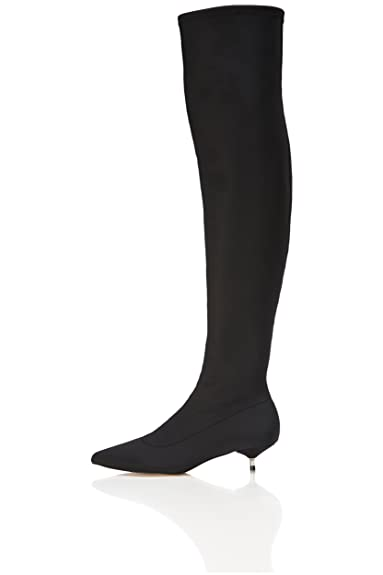 e8af97735615 find. Women s Over the Knee Stretch Neoprene Boots  Amazon.co.uk ...
