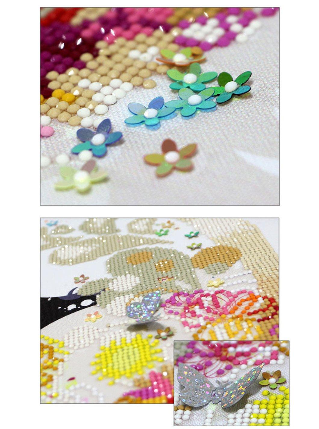 Mazixun Special Shaped 3D DIY Diamond Embroidery 5D Diamond