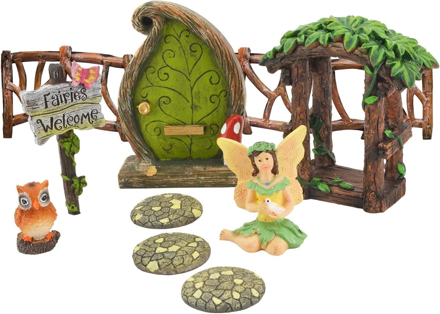 Arcadia Garden Products FG33 Charming Forest Fairy Garden Kit