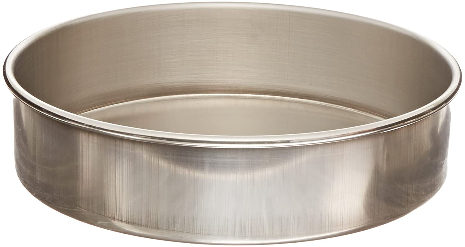Advantech PS8F Stainless Steel Sieve Pan, Full Height, 8' Diameter 8 Diameter