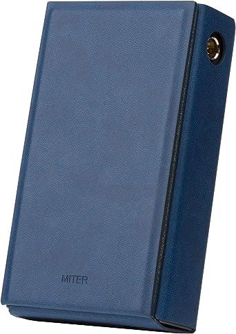 for Astell/&Kern Kann Cube /Étui en Similicuir Fait Main avec Support brevet/é Bleu Marine