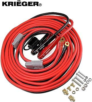 Conectores de la batería de 175 amperios y 25mm² terminales compatible con Anderson Rojo 175A