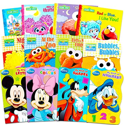 905aa03c9 Image Unavailable. Image not available for. Color: Sesame Street + Mickey  Mouse Baby ...