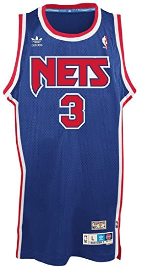 pretty nice ba567 16485 Drazen Petrovic New Jersey Nets Adidas NBA Throwback ...