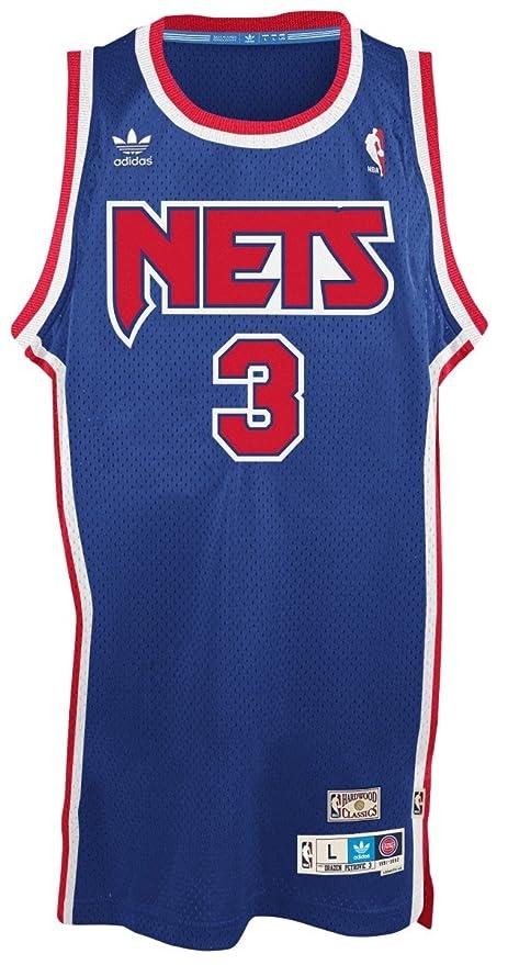 New Jersey Nets Drazen Petrovic Soul Adidas Swingman Jersey (M)