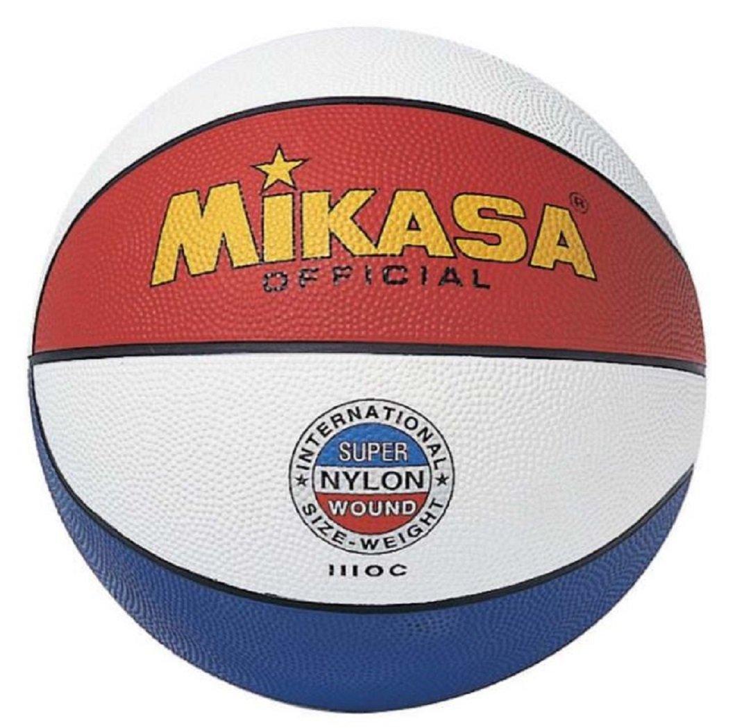 7 Adultos Unisex Mikasa 1110-C Bal/ón de Baloncesto Tricolor