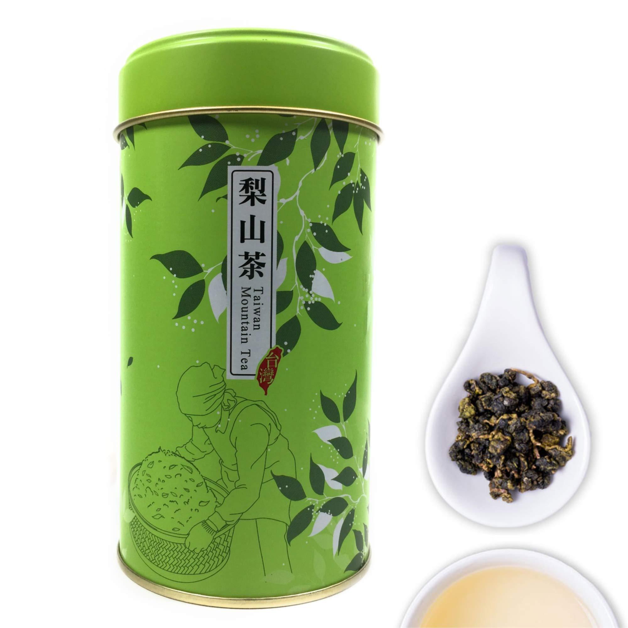 Tepacito Oolong Tea Loose Leaf Taiwan High Mountain Lishan Tea Naturally Grown Fresh Flavor Delicious Health Attributes Unique Aroma Weight Loss