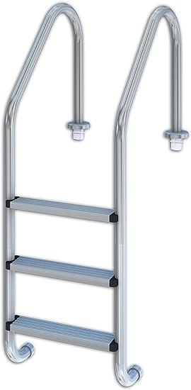 Productos QP 509082 - Escalera estándar, 3 peldaños: Amazon.es: Jardín