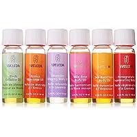 Weleda Body Oil Essentials, Kit, 0.34 Fl Oz (Pack of 6), Variety Pack