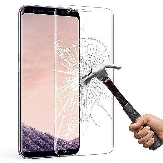 75 opinioni per Samsung Galaxy S8 Pellicola Protettiva, Mture HD Cristallo Film Completo Schermo