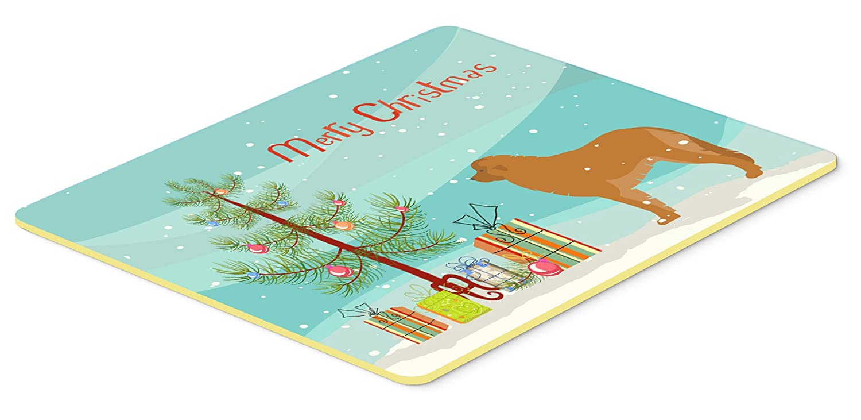 Caroline 's TreasuresレオンベルガーMerryクリスマスツリーキッチンやバスマット24 x 36 bb2976jcmt、24hx36 W、マルチカラー   B01LY3581W