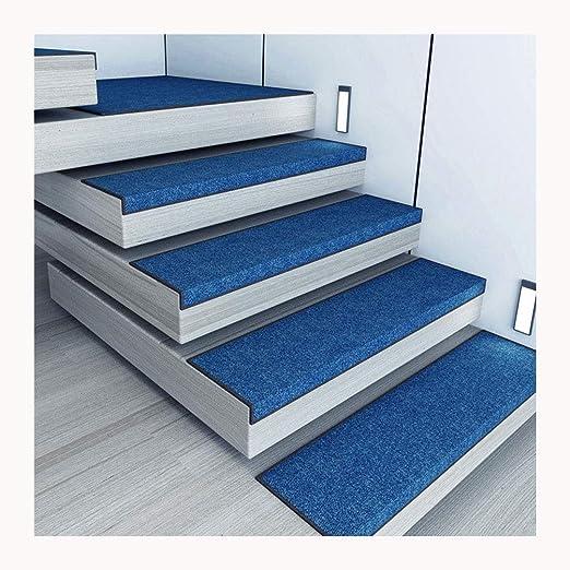 By Alfombrillas para Escaleras,Conjunto De 15 Silencioso Alfombrillas para Peldaños Alfombras para Peldaños Alfombrillas Escaleras Rectangular (75X26cm) (Color : Royal Blue, Size : X1 30x100cm): Amazon.es: Hogar