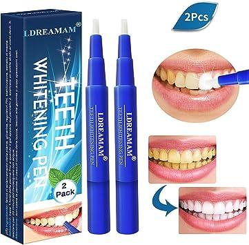 Profesional Blanqueamiento Dental Gel,Blanqueamiento de dientes,Blanqueador Dental blanqueamiento de los dientes y gel que aclara Lápiz Blanqueador del quita las manchas higiene oral: Amazon.es: Salud y cuidado personal