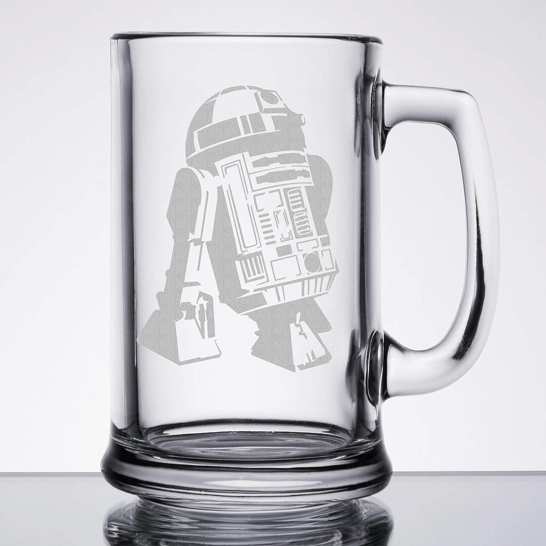 Star Wars - R2D2 - Etched Beer Mug