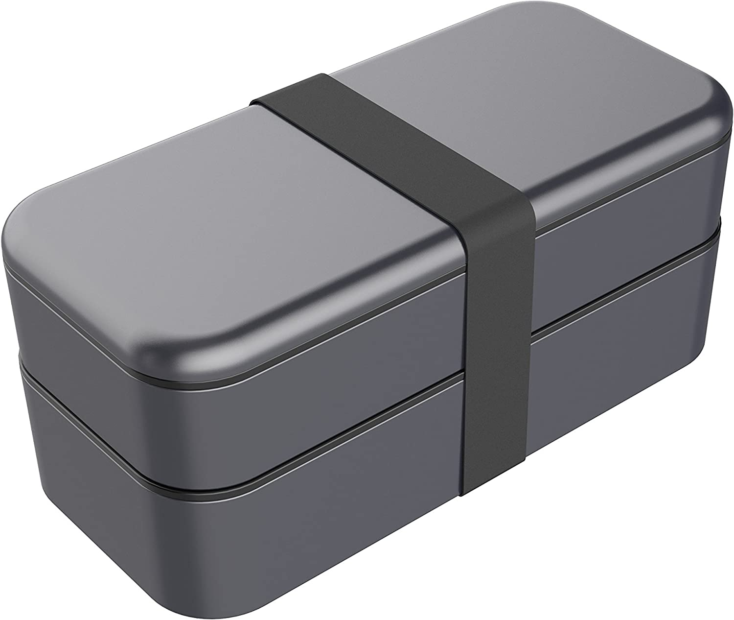 Function101 BentoStack Travel Case and Desktop Organizer - Compatible with Apple Products and Accessories - Space Gray
