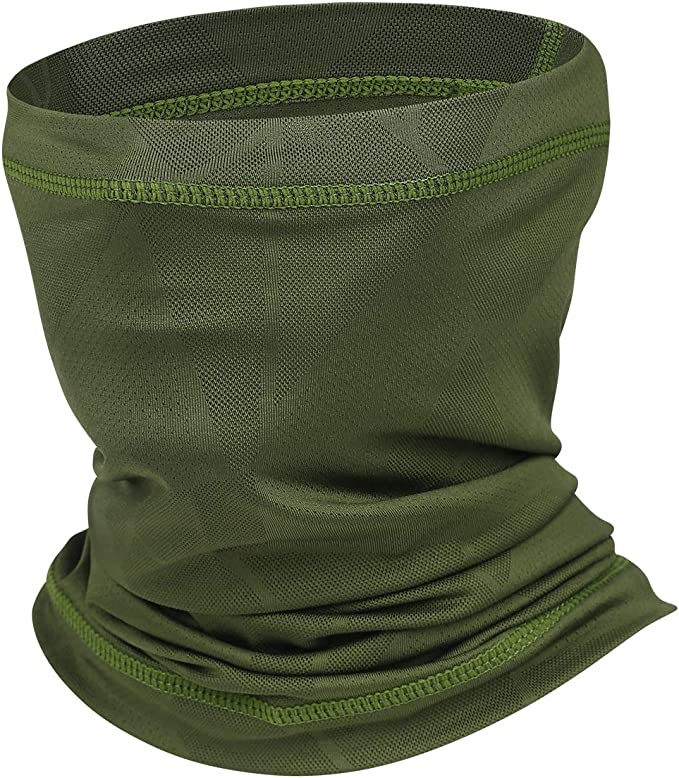 head buff with MESH BREATHING PANEL more breathable Sun Protection neck gaiter