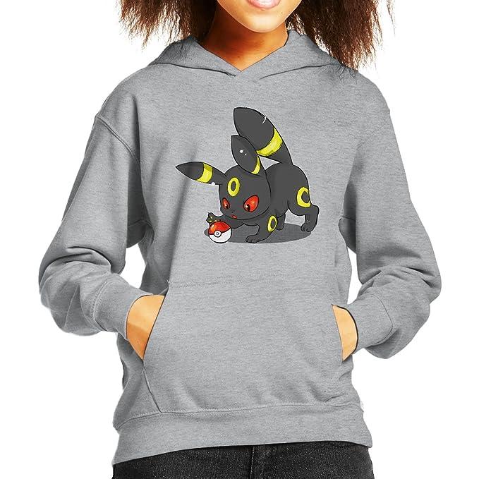 Cute Umbreon Pokemon Kids Hooded Sweatshirt: Amazon.es: Ropa y accesorios