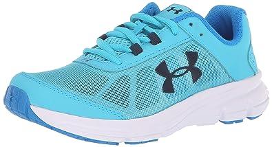 Under Armour Girls  Grade School Rave 2 Sneaker Alpine (301) Blue Circuit 842c07bd753
