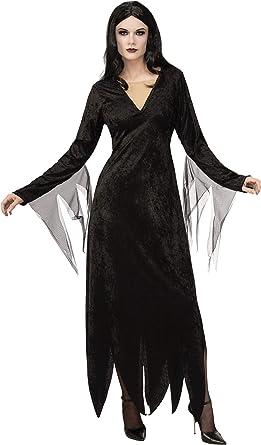 Rubies Addams Disfraz de Morticia de película animada para adulto ...