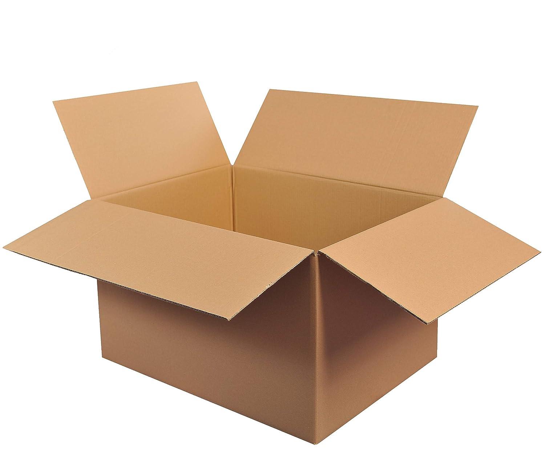 15 St Faltkartons 800x600x400 2-wellig braun 2.40 BC-Welle Versand Umzugs Bücher