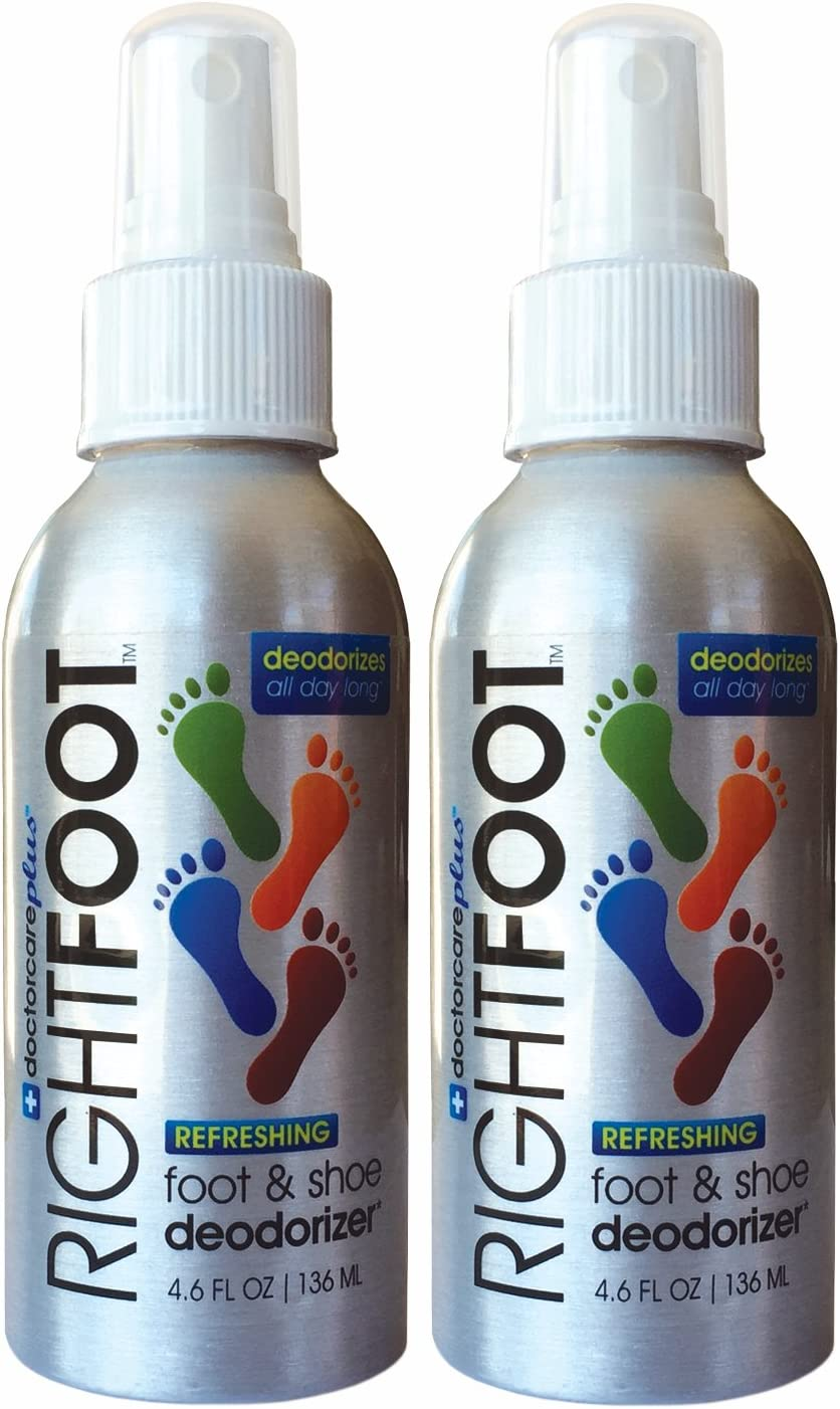 Shoe Deodorizer Foot Spray, Odor Eliminator-2 Pack