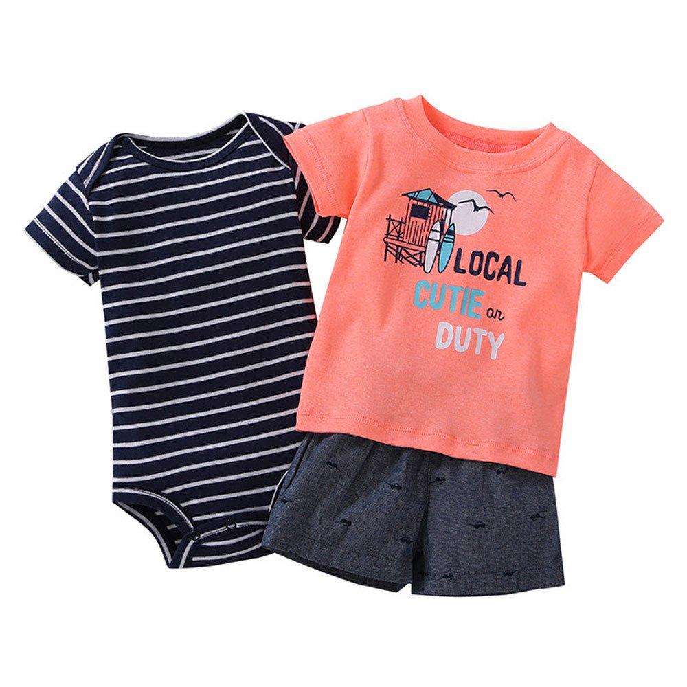 新着 Fyhuzp Baby Set Outfits オレンジ Set Baby SLEEPWEAR ベビーボーイズ 6M オレンジ B07NZDLW5J, ミネハマムラ:d112fe78 --- a0267596.xsph.ru